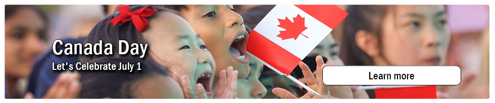 Canada Day - Let's Celebrate July 1
