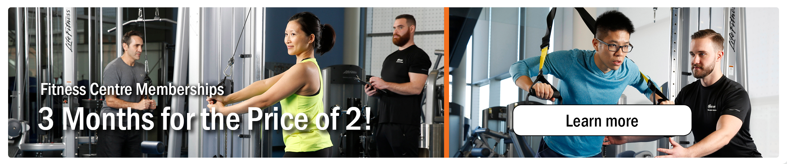 Fitness Promo 3 for 2