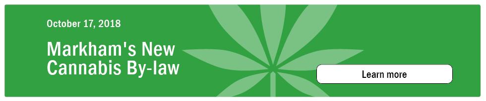 Markham Cannabis By Law